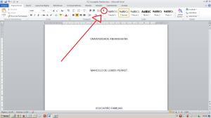 Numerando páginas no Word - Mostrar marcos do texto