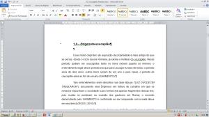 Numerando páginas no Word - O texto voltará a sua aparência normal
