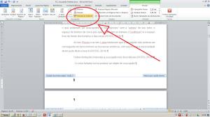 Numerando páginas no Word - Desvinculando da seção anterior