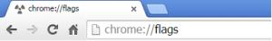Abrir Janela Chrome Flags