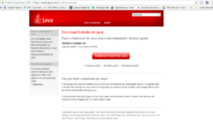 Site download do Java